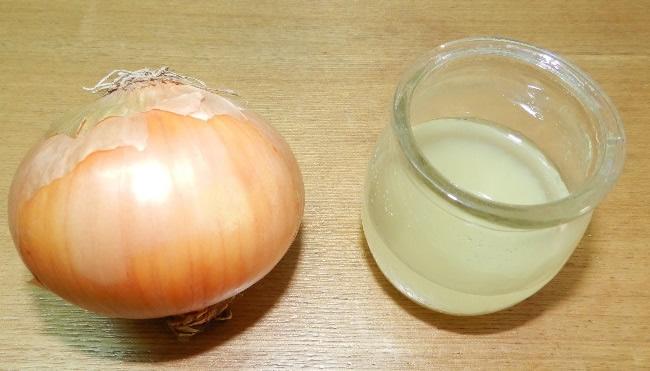 como hacer jugo de cebolla para el cabello