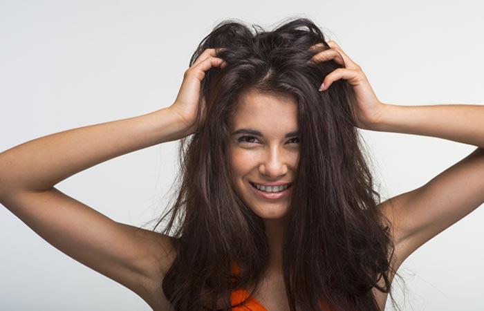 tratamiento con aceite de menta para la perdida del cabello