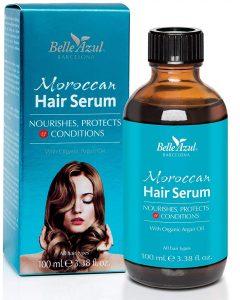 Aceite de argán orgánico para el cabello